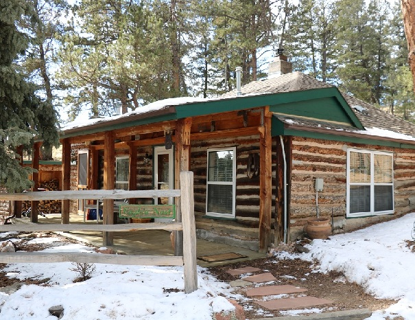 cabin rental 2 bed 1 bath